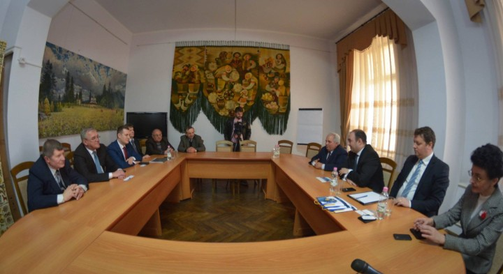 Visit at Ivano-Frankivsk, Ukraine 25-26 March 2015