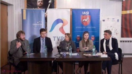 """Euroregiunea Siret-Prut-Nistru – susținător al proiectului """"Caravana filmelor documentare Iași-Cernăuți-Chișinău"""""""
