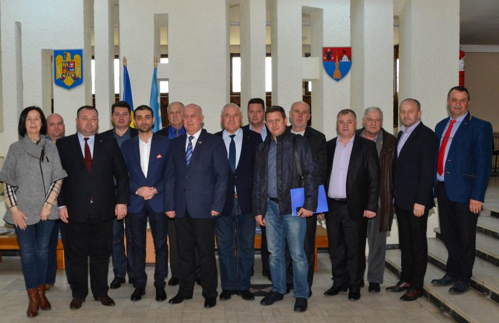 Official reception at the Maramures County Council