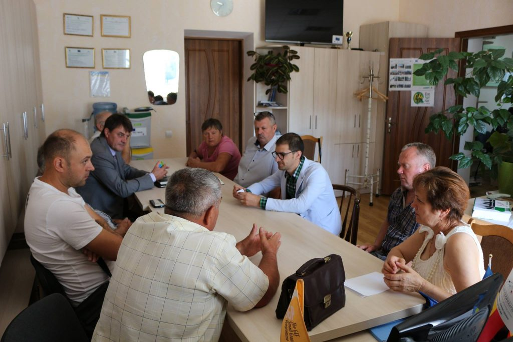 Meeting with farmers from Falesti district, Republic of Moldova