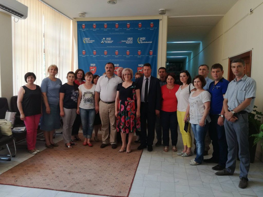 Study visit of the delegation from Soroca district, June 23rd