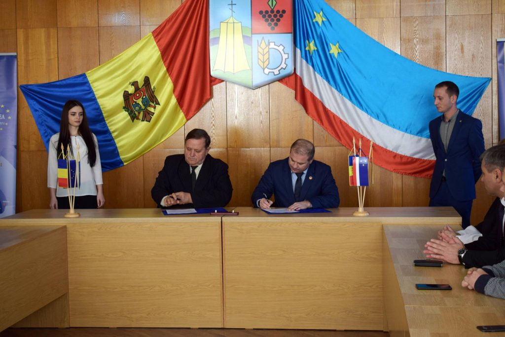 December 9, Signing of the Cooperation Agreement at Ceadir-Lunga, ATU Gagauzia