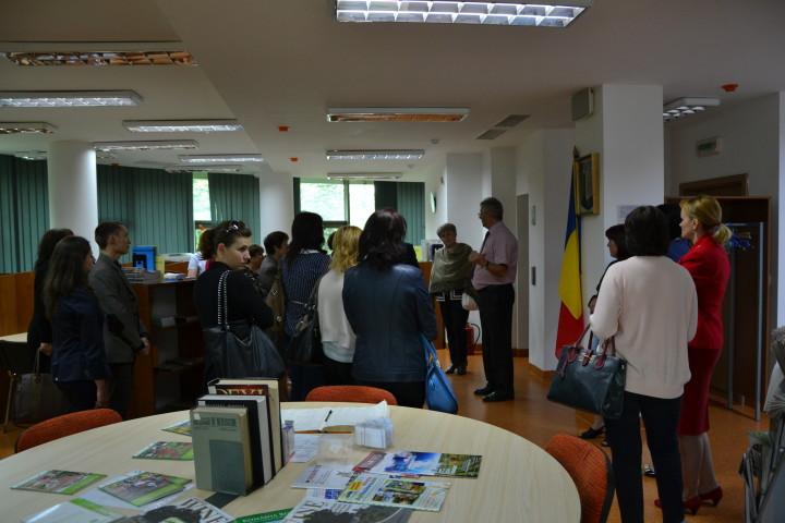 Vizită de studiu profesori de biologie din Raionul Ungheni, 17 iunie 2015
