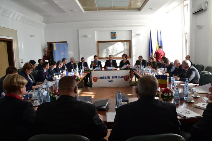 Forumul Președinților Euroregiunii Siret-Prut-Nistru – Iași, 11 noiembrie