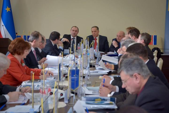 Forumul Președinților Euroregiunii Siret-Prut-Nistru – Comrat, 10 martie