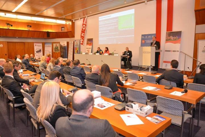 """Forum """"Invest in Iași"""", Viena"""