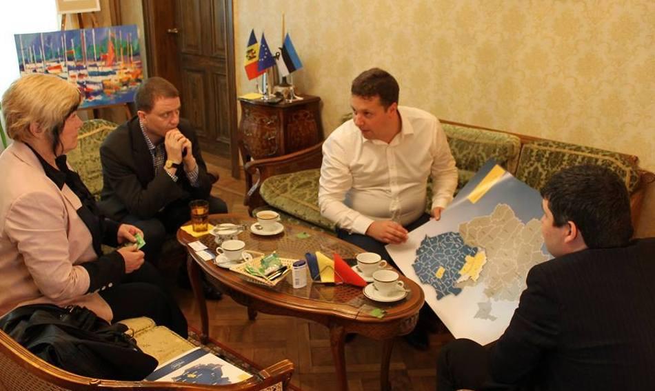 Am demarat colaborarea cu Euroregiunea Helsinki-Tallinn