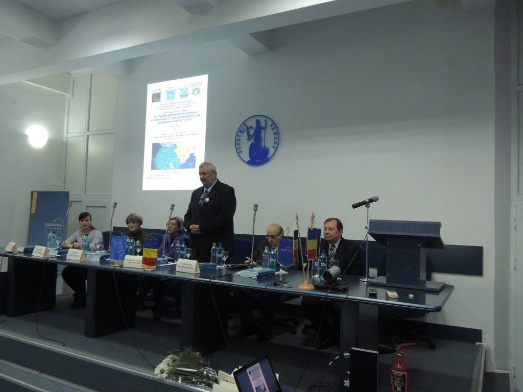 """Conferința Științifică Internațională """"Dezvoltarea economico-socială durabilă a euroregiunilor şi a zonelor transfrontaliere"""""""