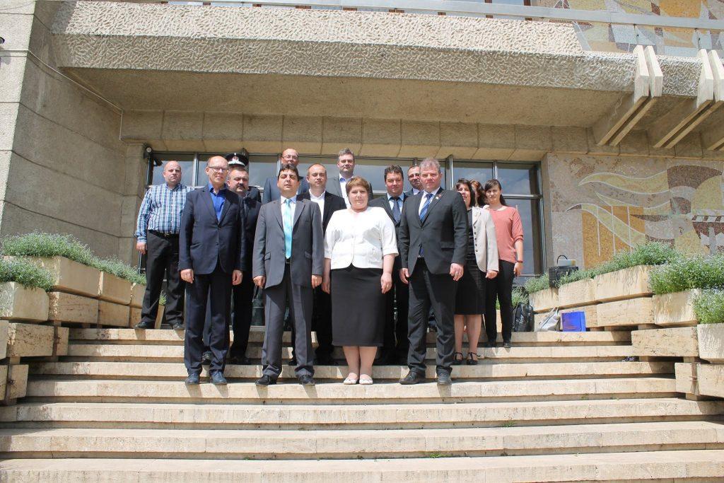 4 mai, Iași – Întâlnire la Sala Verde a Prefecturii Iași