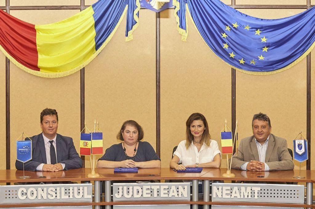 Județul Neamț, România și raionul Telenești, Republica Moldova – primul pas spre înfrățire