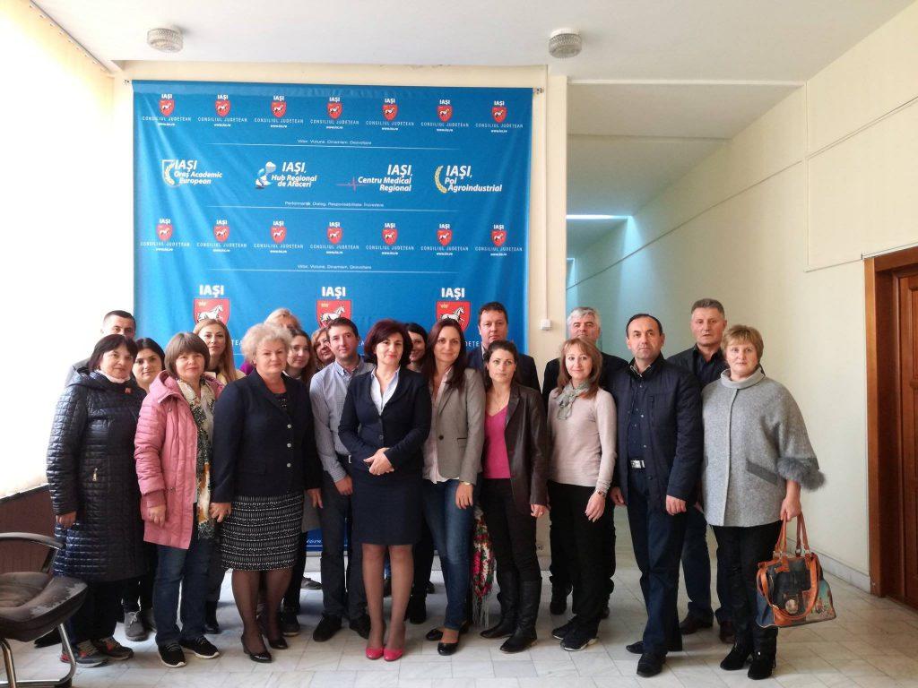 12 octombrie, Vizită a delegației Consiliului Raional Strășeni