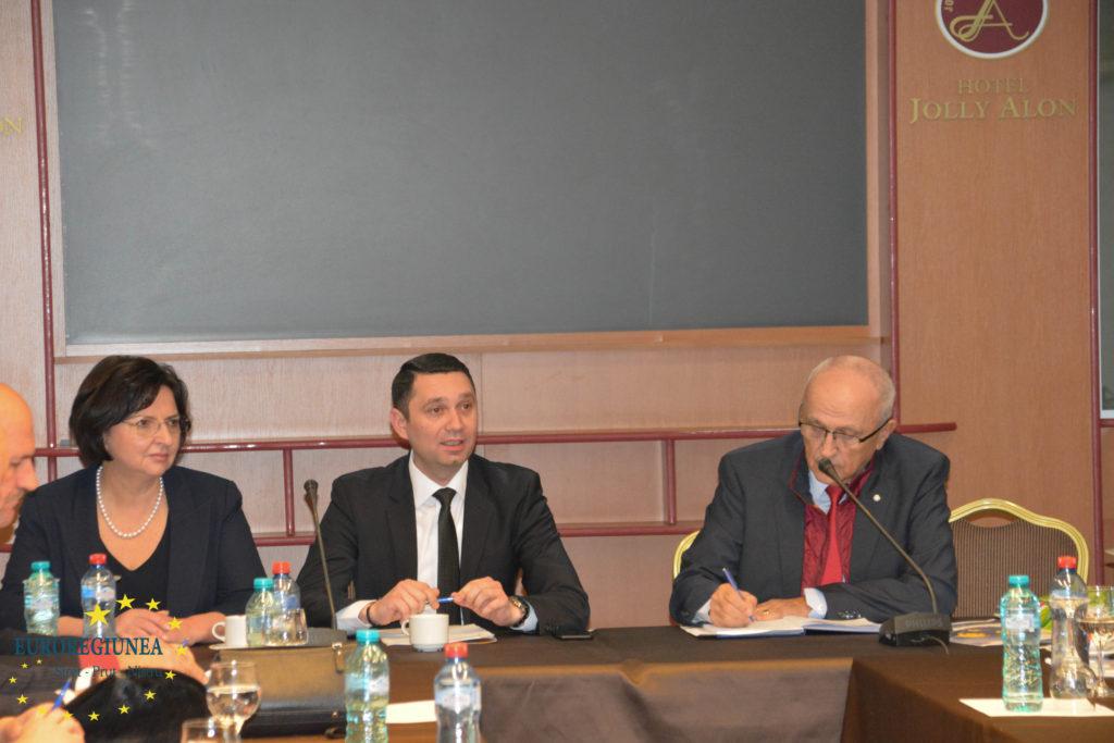 14 ianuarie 2019 – Ședința Consiliului Director al Asociației Euroregiunea Siret-Prut-Nistru